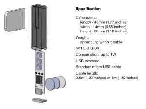 Luxafor specificaties
